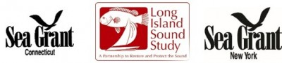 Logos for Connecticut and New York Sea Grant and EPA Long Island Sound Study